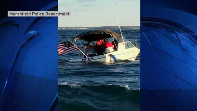 4 Rescued After Boat Sinks Off Massachusetts Coast