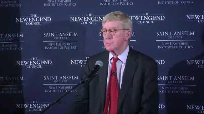 Gov. Charlie Baker Not Ready to Back Bill Weld's 2020 Presidential Bid
