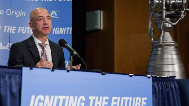 Jeff Bezos' Space Company Successfully Lands a Rocket