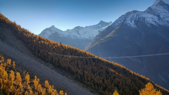 World's Longest Pedestrian Suspension Bridge Opens Across the Swiss Alps