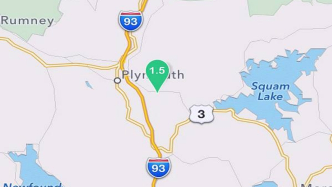 Earthquake Rumbles Near Plymouth, New Hampshire