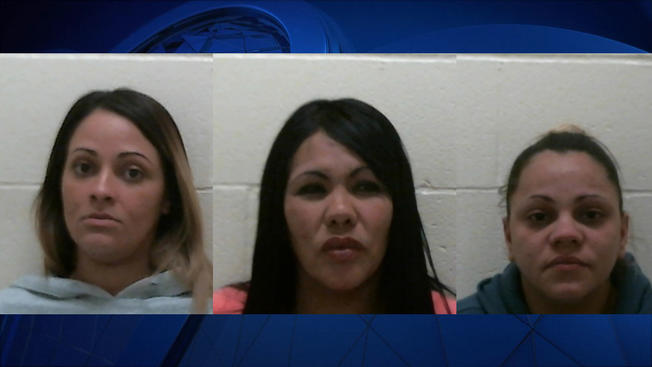 3 Massachusetts Women Charged in Shoplifting Spree at Connecticut Outlet Mall