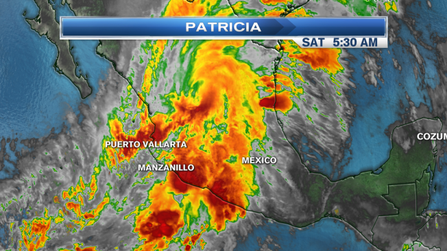 Patricia Rapidly Weakens, Flooding Rains Continue