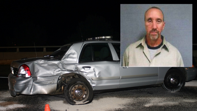 PD: State Trooper Injured When Cruiser Struck by DUI Driver