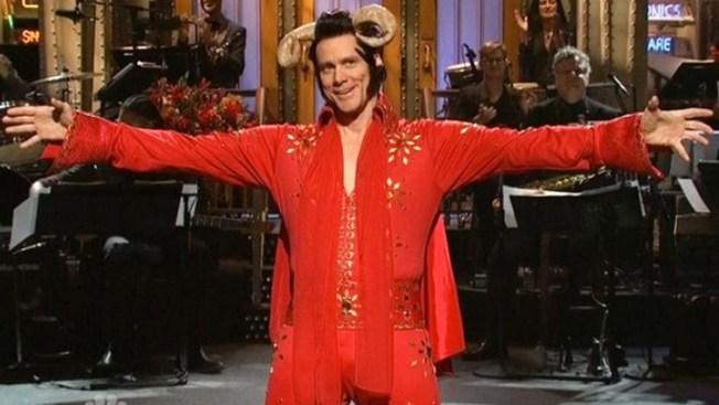 "Jim Carrey Celebrates Halloween on ""Saturday Night Live"""
