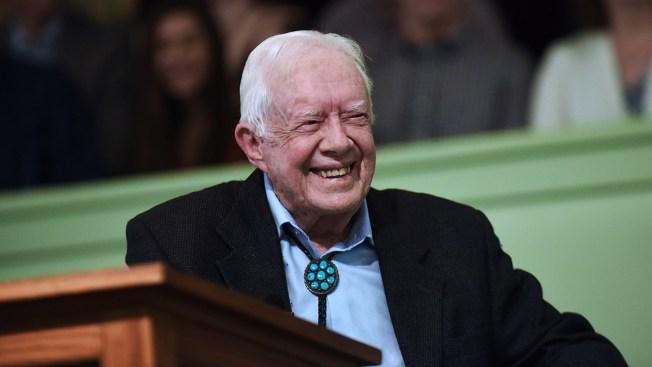 Former President Jimmy Carter 'Feels Fine' After Fall