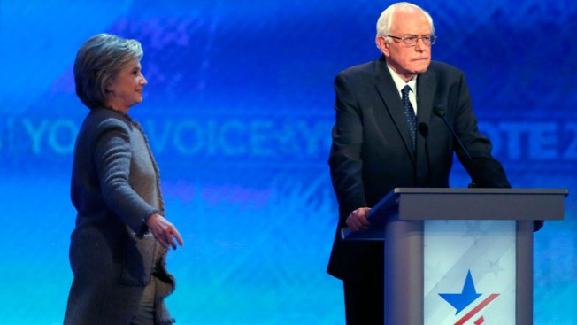 Democratic Debate Goes on Without Hillary Clinton on Stage