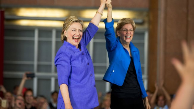 Hillary Clinton, Elizabeth Warren to Campaign Together in New Hampshire