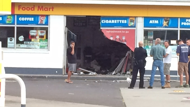 SUV Crashes Into Convenience Store