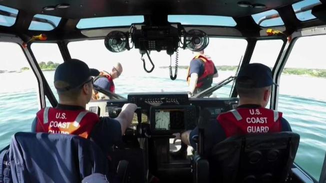 Coast Guard: Woman Rescued After Falling Overboard