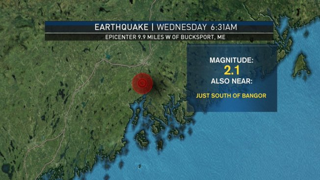 Small Earthquake Shakes Things Up in Maine