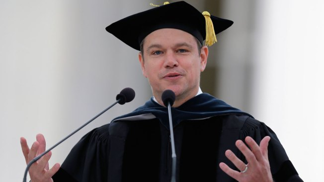 Matt Damon Delivers MIT Commencement Address