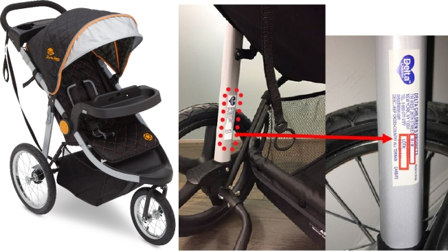 j is for jeep jogging strollers recalled over fall hazard - necn
