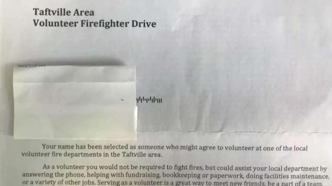 firefighter donation request is not from local departments conn