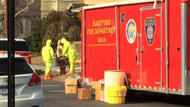 Suspected Overdose Prompts Hazmat Response in Hartford