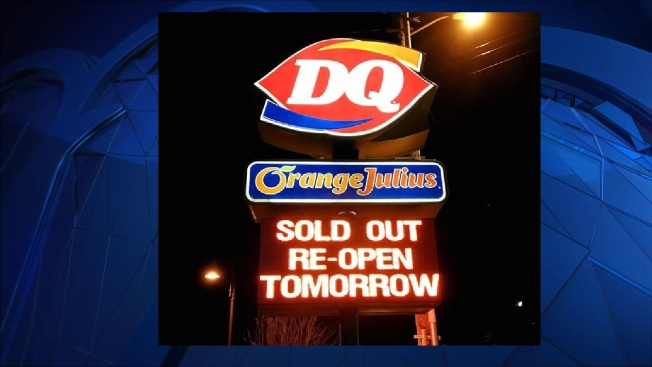 Warm Weather Leads to Ice Cream Shortage at Laconia, NH Dairy Queen
