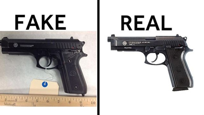 Fake Gun, Real Crime: Police Notice Uptick in Replicas
