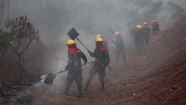Vast Fires Sweep Across Bolivia as Well as Brazil