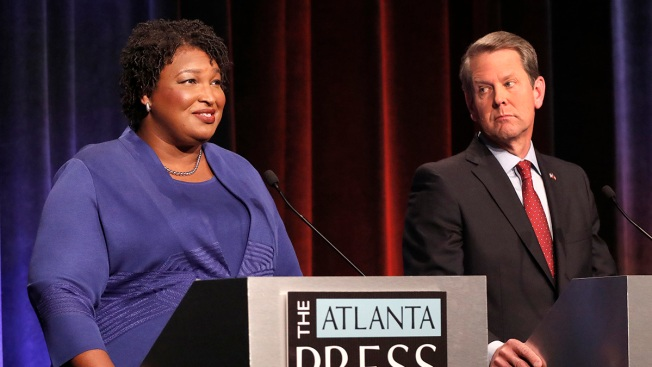 Without Evidence, Kemp Says Ga. Dems Attempted Voter Hack; Abrams Denies Claim