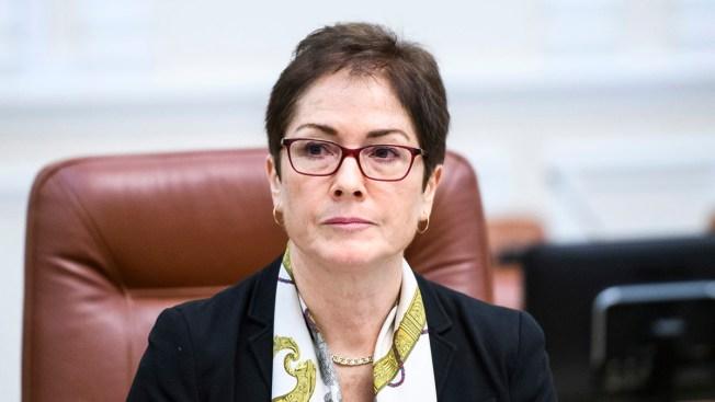 US Ambassador Pressed Ukraine Corruption Fight Before Ouster