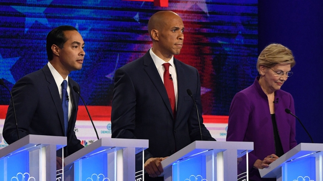 Who Spoke the Most on the First Night of the Democratic Debate?