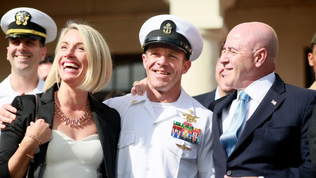 Trump Strips Achievement Medals From Prosecutors in SEAL Chief's Case