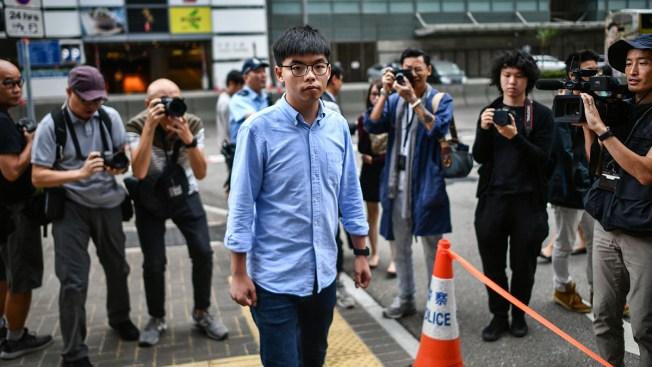 Activist Joshua Wong Barred From Election, Hong Kong Nears Recession