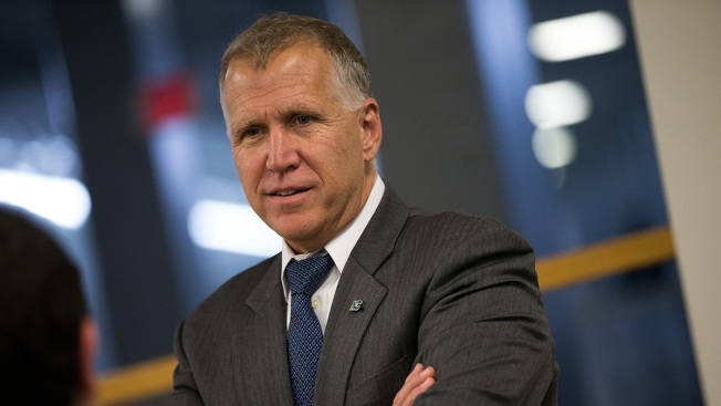 North Carolina's Sen. Thom Tillis 'doing well' after collapsing during DC race