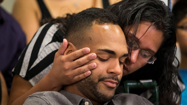 Orlando Nightclub Massacre Survivor Takes His First Steps