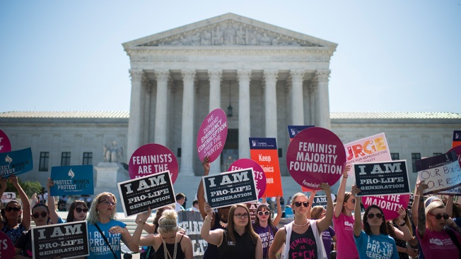 US Supreme Court Strikes Down Texas Abortion Rules