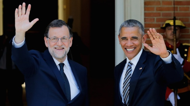 Obama Rushes Through First Presidential Visit to Spain