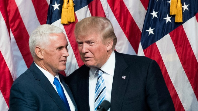 Trump, Pence Speak at Foreign Wars Convention