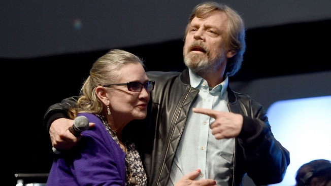 Mark Hamill: Carrie Fisher Star Wars Tribute Is 'Therapy'