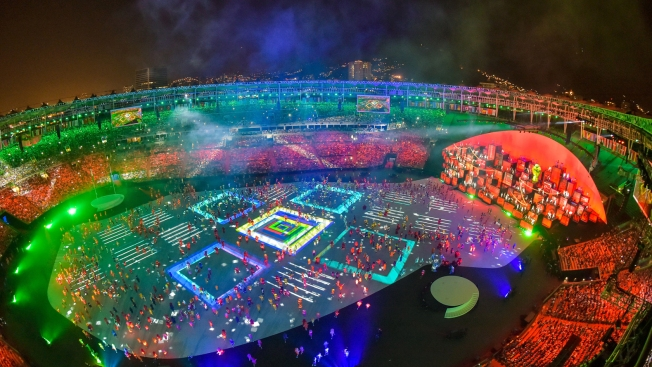 [NATL] Celebrating Rio: Images from the Opening Ceremony