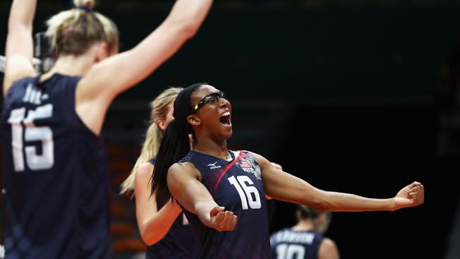Top-Ranked US Women Take Volleyball Bronze