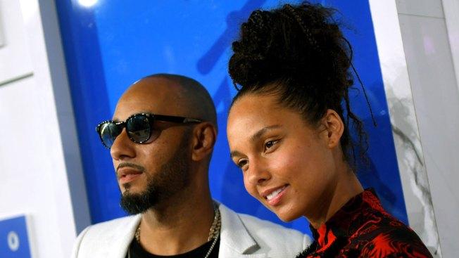 Alicia Keys' Husband Swizz Beatz Defends Her Against No Makeup Critics