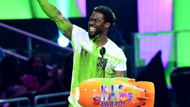 'Ghostbusters,' Kevin Hart Win Big at Kids' Choice Awards