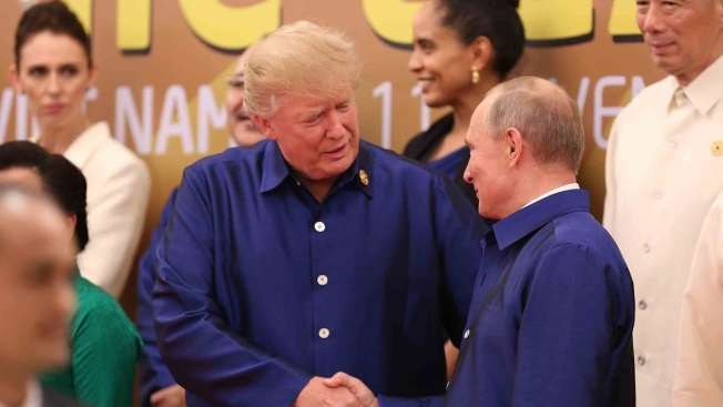 [NATL] Donald Trump's Presidency in Photos