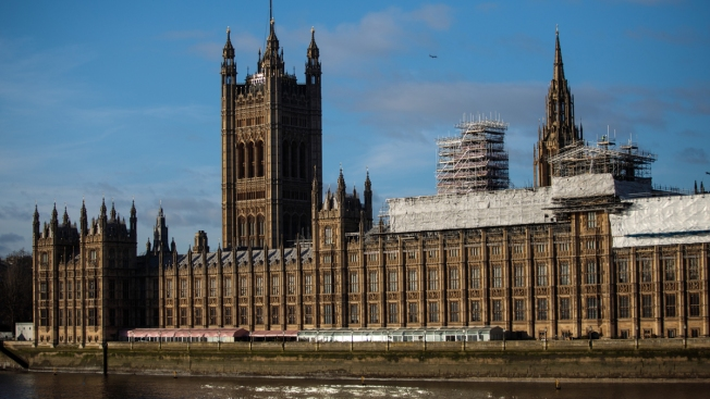 Package With White Powder Delivered to British Parliament