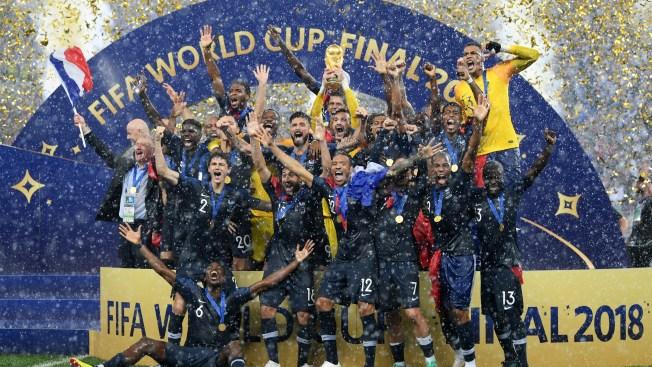 [NATL] Top Sports Photos: France Defeats Croatia 4-2 in FIFA World Cup Final