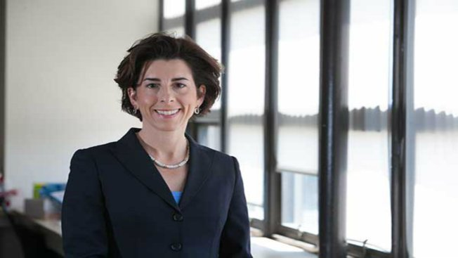 Raimondo Inaugurated as Rhode Island's 1st Female Governor