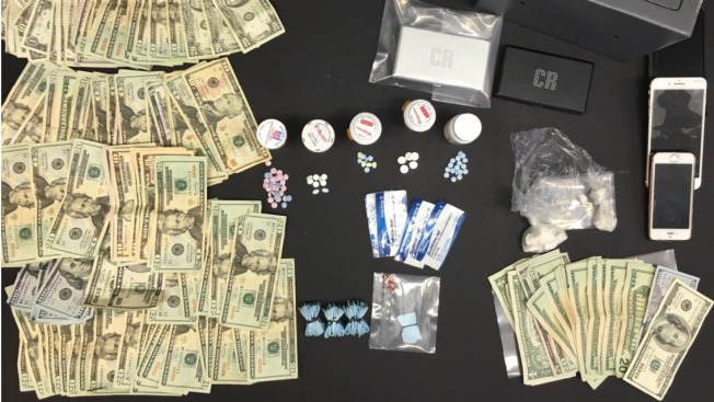 Over 100 Bags of Heroin, Other Drugs Seized From Car