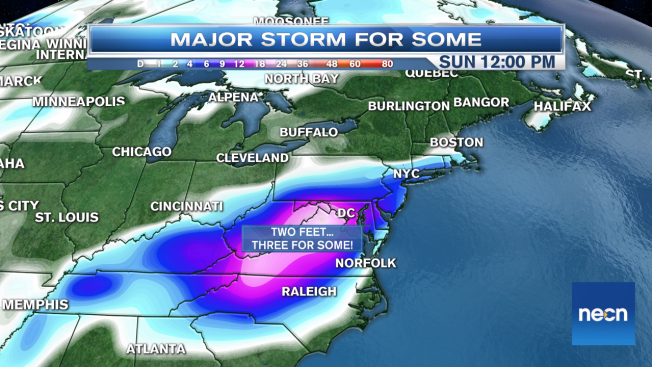 While Mid-Atlantic Gets a Wallop, New England Sidesteps for Lesser Amounts
