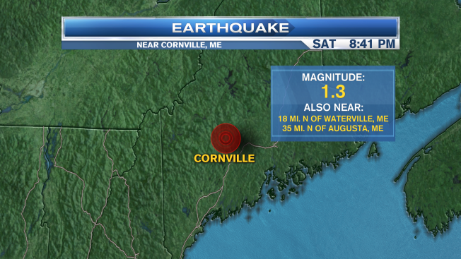 Minor Earthquake Reported in Maine