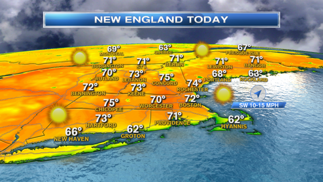 New England Warming Trend Has Begun