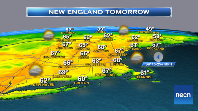 Wonderful Wednesday Ahead of Late Week Warmth
