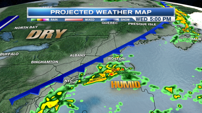 Scattered Showers and Isolated Thunderstorms in Store
