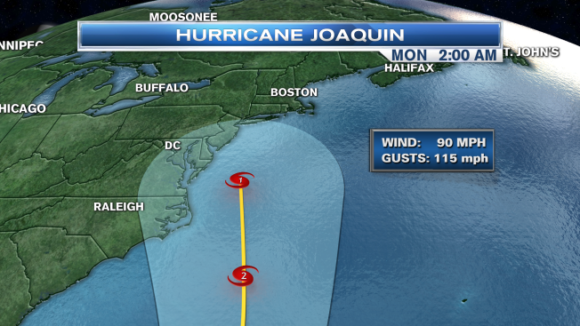 Joaquin, Now a Hurricane, Gets Stronger as It Nears East Coast