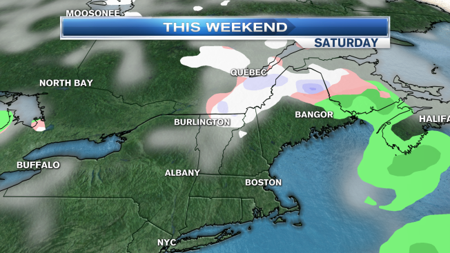 Chilly Weekend Ahead, Snow for Some