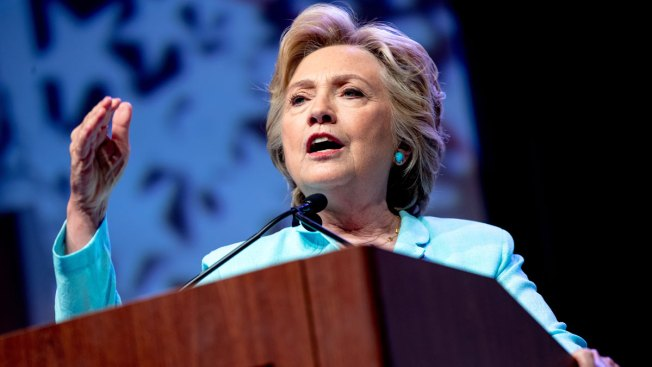 Clinton Meeting With Top Law Enforcement Leaders in New York